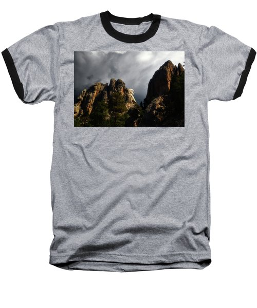 Washington Profile 001 Baseball T-Shirt by George Bostian