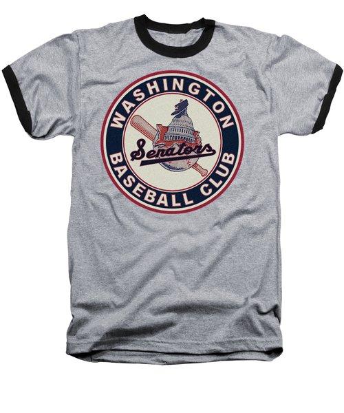 Washington Senators Retro Logo Baseball T-Shirt
