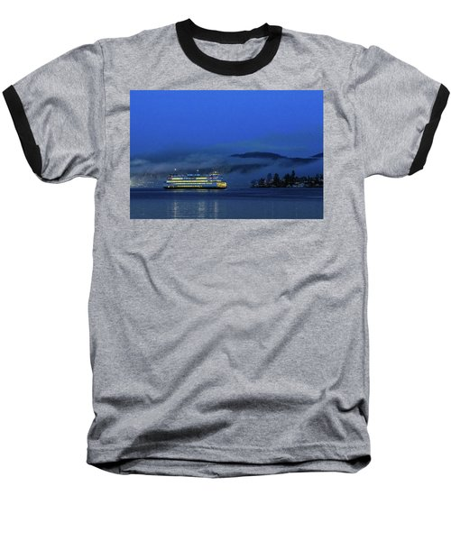 Washington State Ferry Hyak Baseball T-Shirt