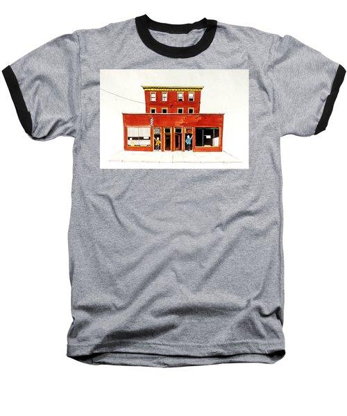 Washington Street Barbers Baseball T-Shirt