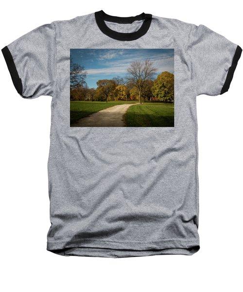 Washington Walkway Baseball T-Shirt by Kimberly Mackowski