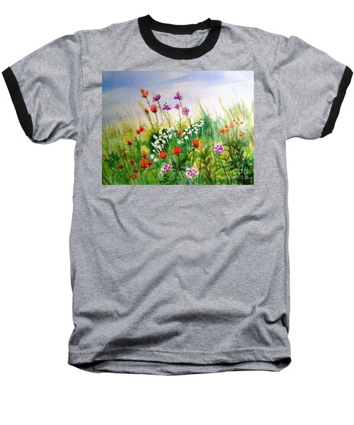 Washington Wildflowers Baseball T-Shirt