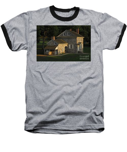 Washington's Headquarters At Valley Forge Baseball T-Shirt