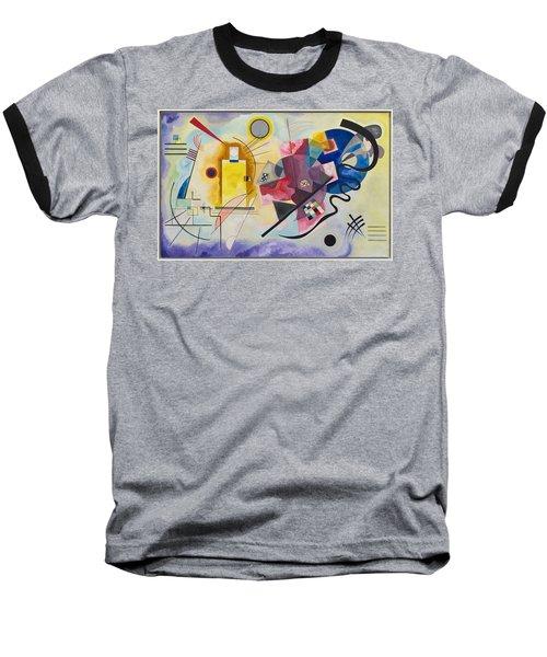 Wassily Kandinsky,jaune Rouge Bleu Baseball T-Shirt
