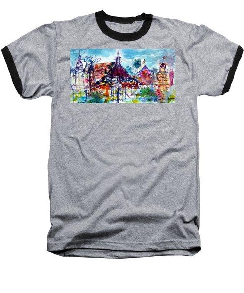 Wat Chimphli Sutthawat Baseball T-Shirt