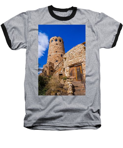 Baseball T-Shirt featuring the photograph Watch Tower by Jerry Cahill