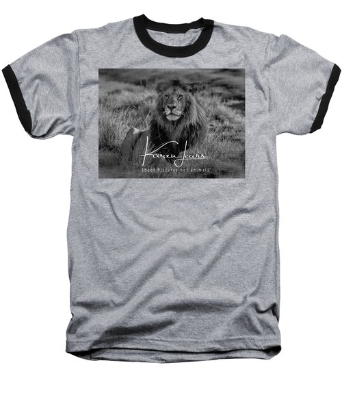 Baseball T-Shirt featuring the photograph Watching And Waiting by Karen Lewis
