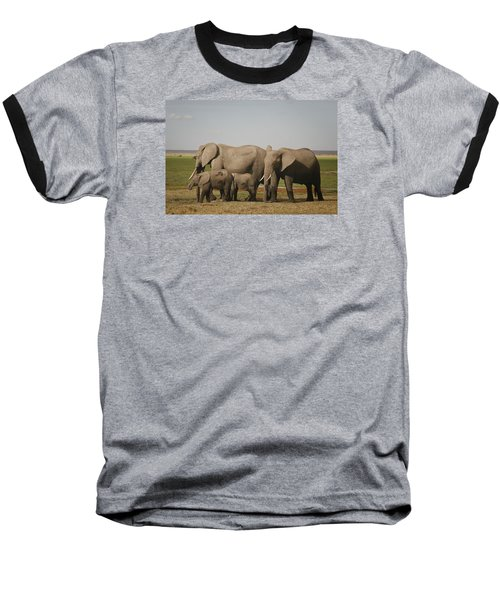 Baseball T-Shirt featuring the photograph Watching The Children by Gary Hall