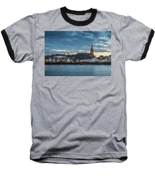 Watching The City Lights, Nijmegen Baseball T-Shirt