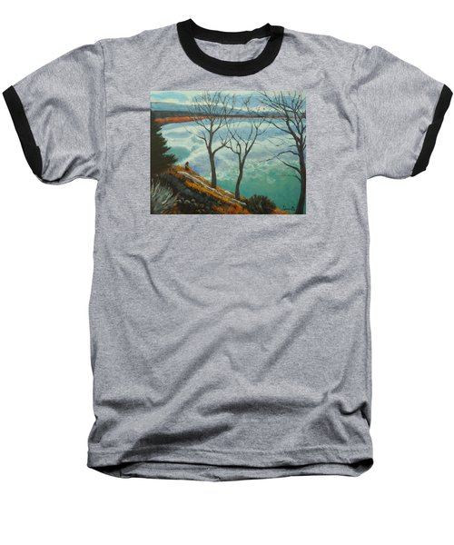 Watching The Clouds Go By Baseball T-Shirt