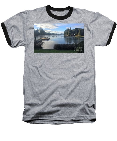 Baseball T-Shirt featuring the photograph Watching The Ice Melt by Victor K