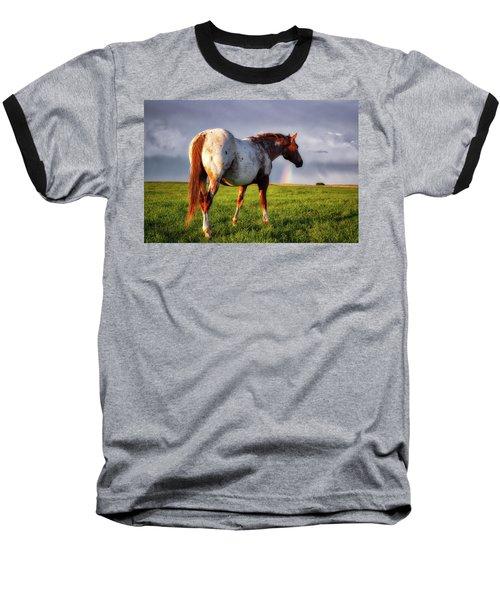 Watching The Rainbow Baseball T-Shirt