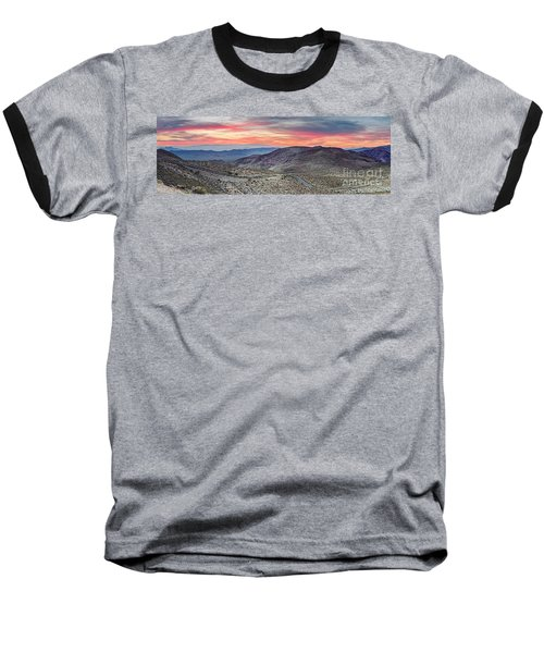 Watching The Sunrise From Dante's View - Black Mountains Death Valley National Park California Baseball T-Shirt