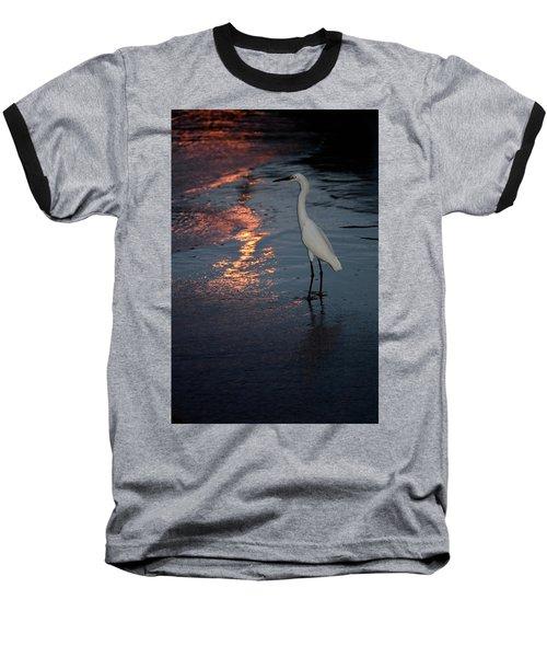 Watching The Sunset Baseball T-Shirt