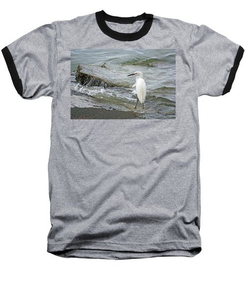 Watching The Tide Come In Baseball T-Shirt