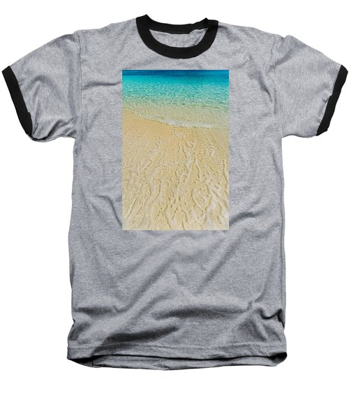 Water Abstract 1 Baseball T-Shirt