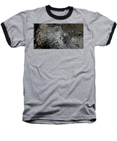 Water Abstract 7 Baseball T-Shirt