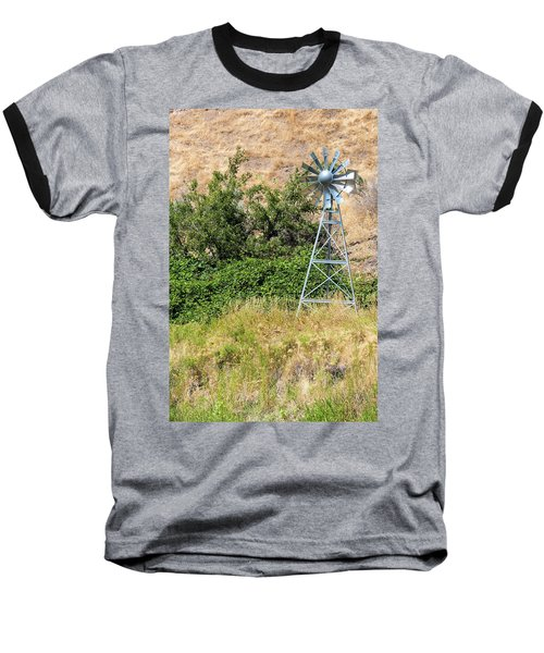 Water Aerating Windmill For Ponds And Lakes Baseball T-Shirt