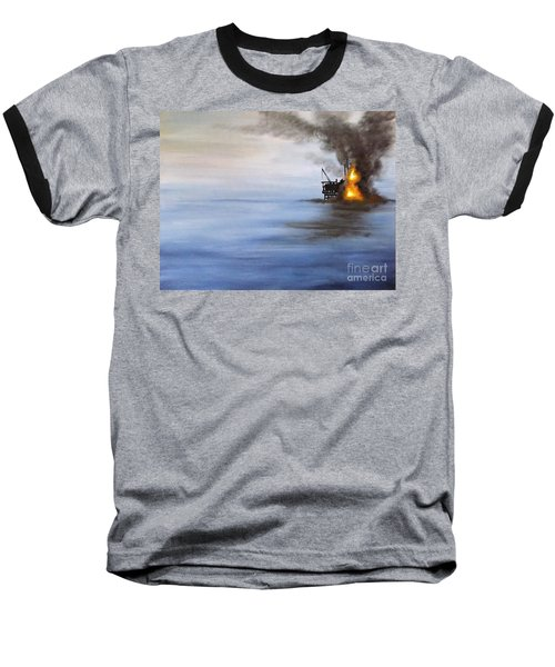Water And Air Pollution Baseball T-Shirt