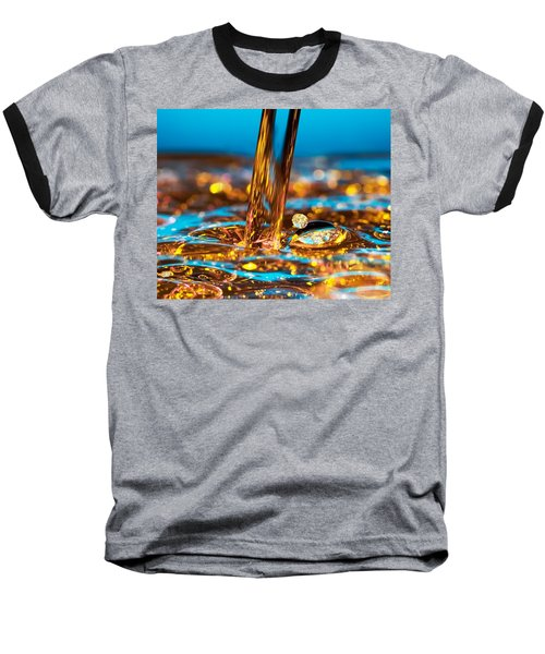 Water And Oil Baseball T-Shirt