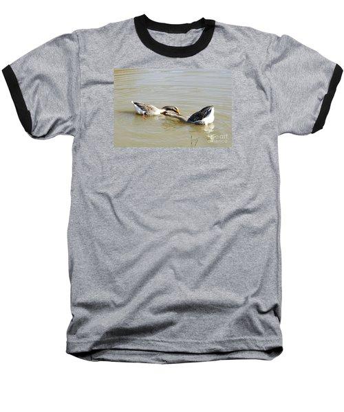 Water Arobics Baseball T-Shirt