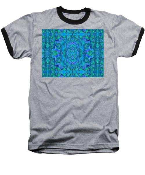 Water Art Pattern  Baseball T-Shirt
