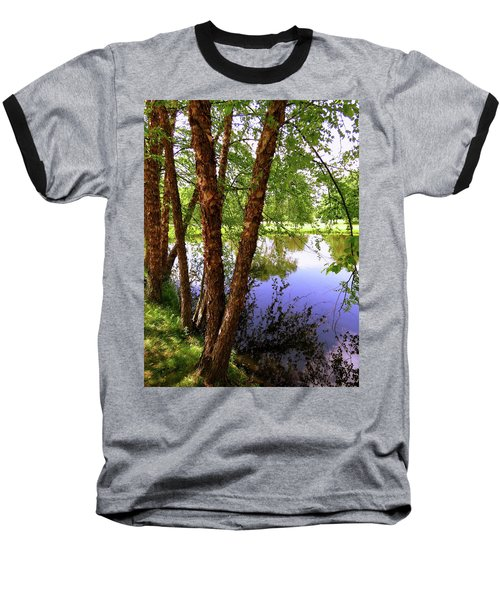 Water Birch Baseball T-Shirt
