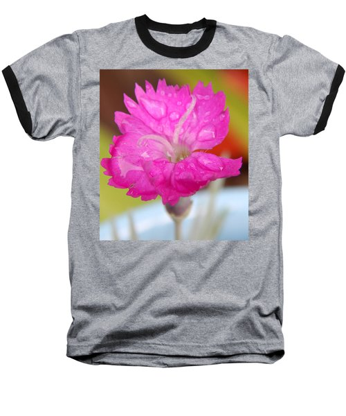 Water Bug Flower Baseball T-Shirt