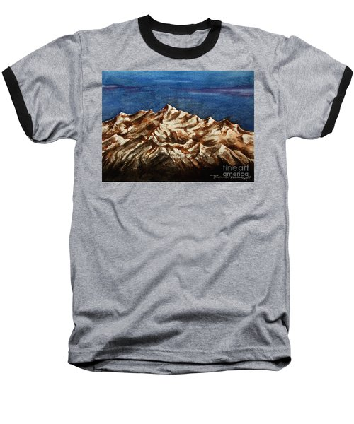 Water Color-6 Baseball T-Shirt