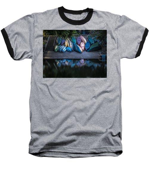 Water Color Baseball T-Shirt