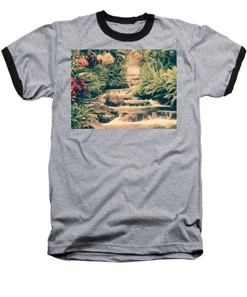 Water Creek Baseball T-Shirt by Sheila Mcdonald