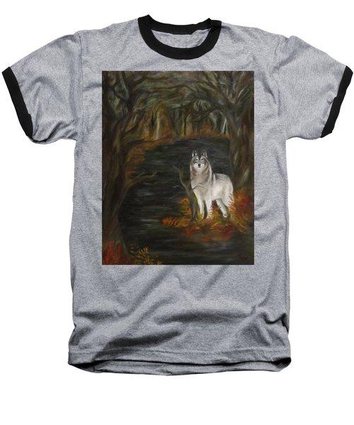 Water Dark Baseball T-Shirt