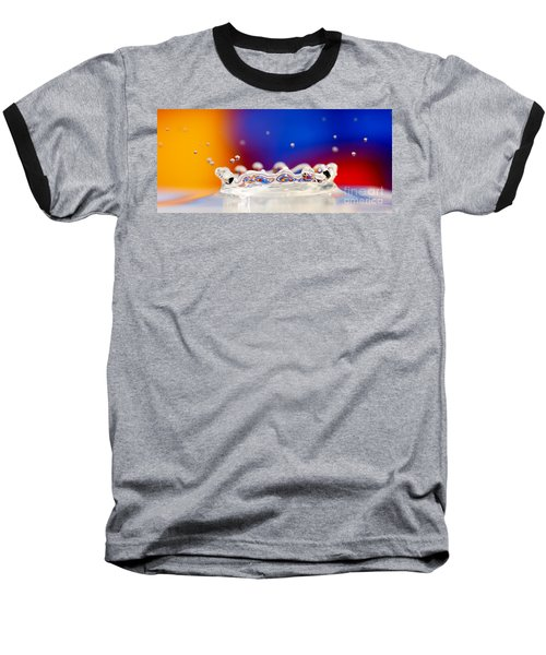 Baseball T-Shirt featuring the photograph Water Drop by Colin Rayner