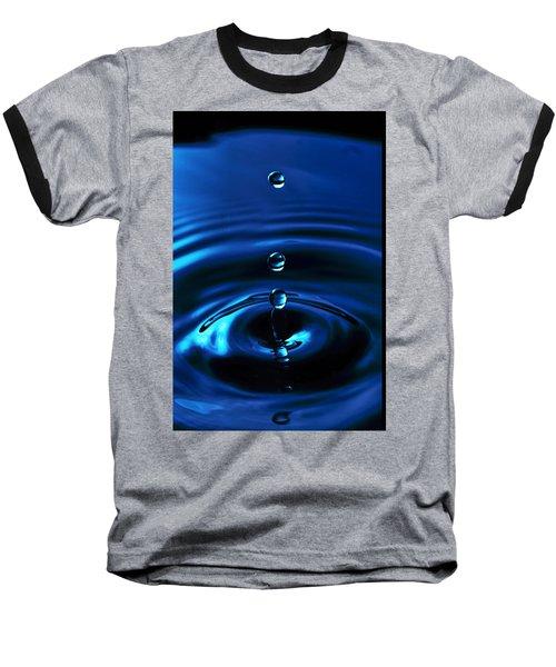 Water Drop Baseball T-Shirt by Marlo Horne