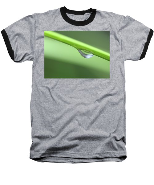Water Droplet II Baseball T-Shirt by Richard Rizzo