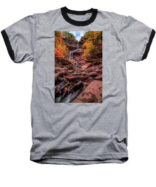 Water Falls  Baseball T-Shirt by Anthony Fields