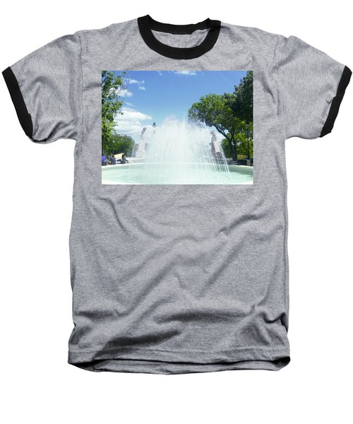 Water Fountain Ponce, Puerto Rico Baseball T-Shirt