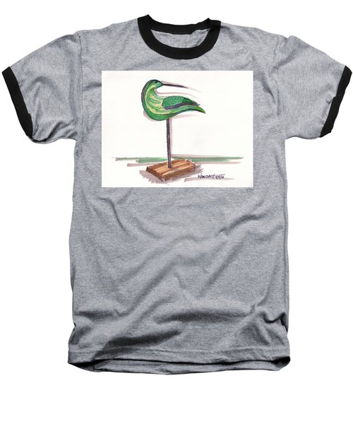 Water Fowl Motif #3 Baseball T-Shirt