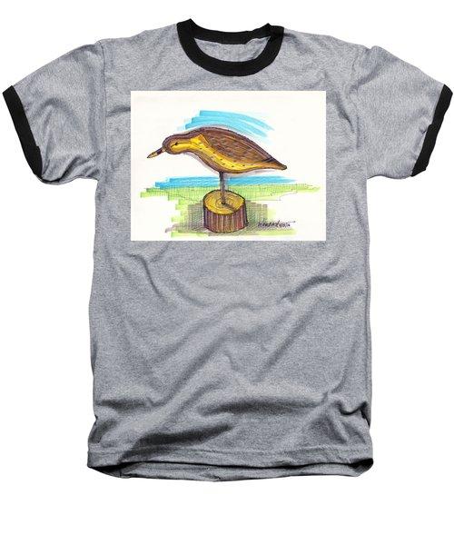 Water Fowl Motif #7 Baseball T-Shirt