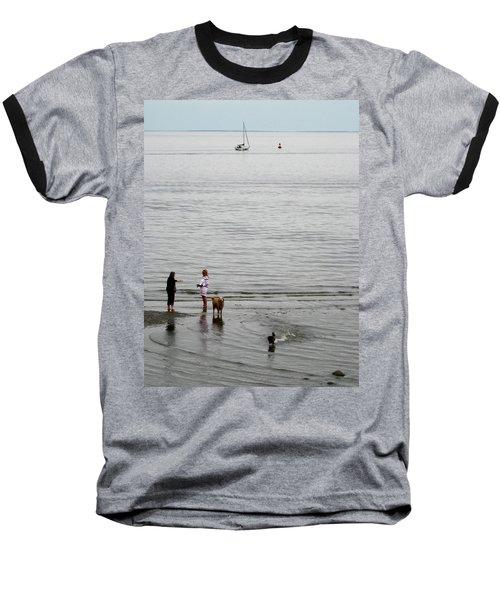 Water Fun Baseball T-Shirt by John Scates