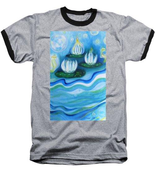 Water Garden Baseball T-Shirt