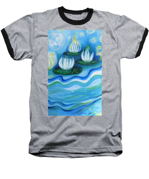 Water Garden Baseball T-Shirt