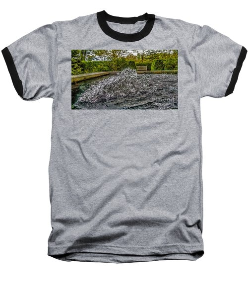 Water In Motion Baseball T-Shirt