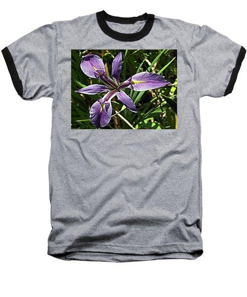 Water Iris Baseball T-Shirt