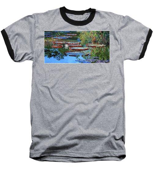 Water Lilies For Amelia Baseball T-Shirt