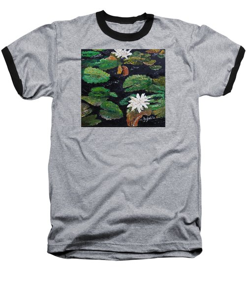 water lilies II Baseball T-Shirt