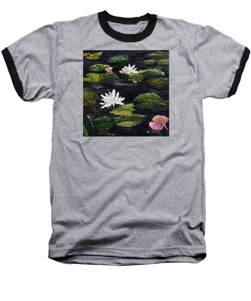 Water Lilies IIi Baseball T-Shirt
