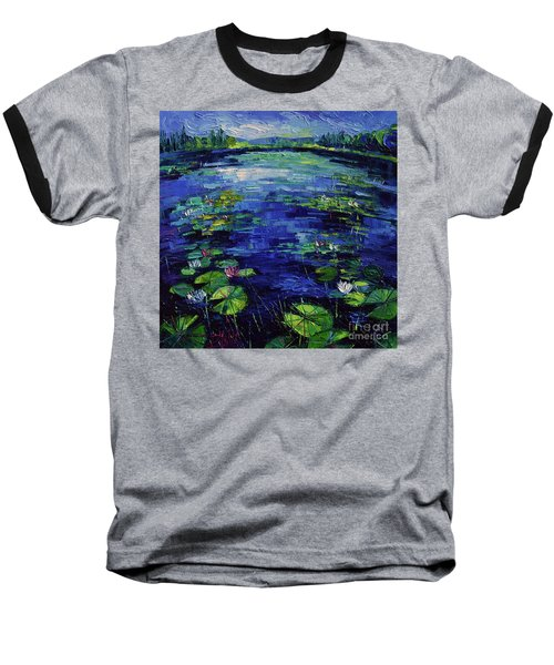 Water Lilies Magic Baseball T-Shirt