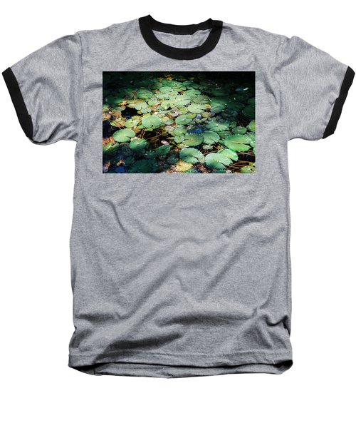 Water Lillies Baseball T-Shirt