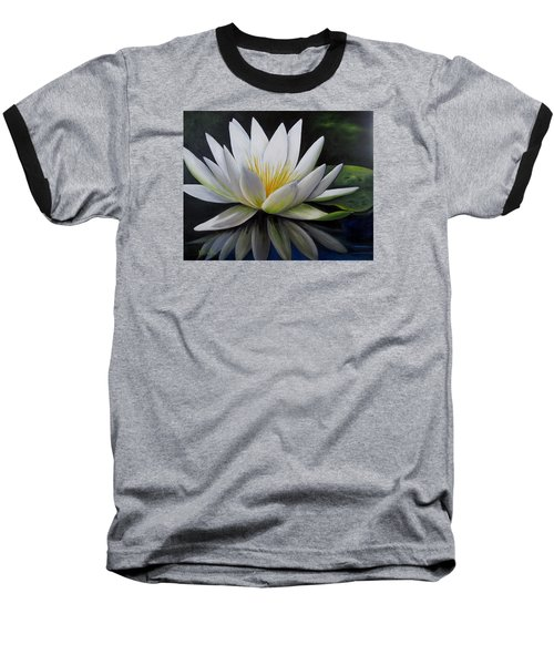 Water Lilly  Baseball T-Shirt